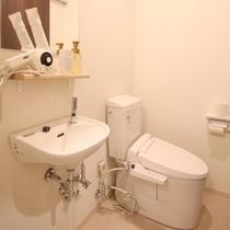 ■スタンダードダブルルーム/専用トイレ