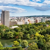 【周辺・札幌市内景色など】中島公園/地下鉄駅に隣接した、水と緑に包まれた美しい公園です。