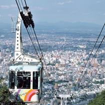【周辺・札幌市内景色など】もいわ山ロープウェイ ※イメージ