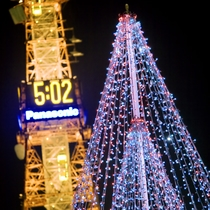 【周辺・札幌市内景色など】大通公園(冬・イルミネーションイメージ)