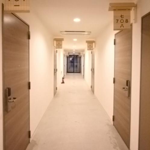 ■館内廊下のイメージ
