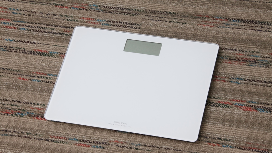 貸出物☆体重計