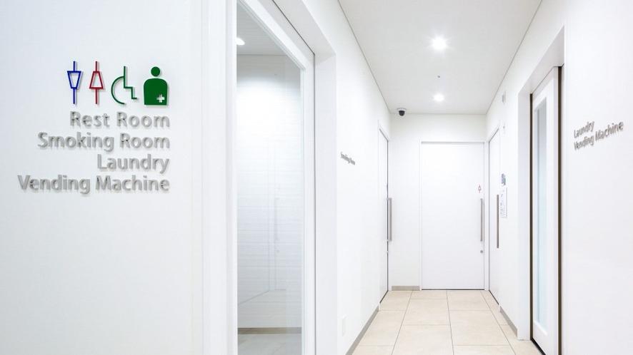 2階トイレ前廊下