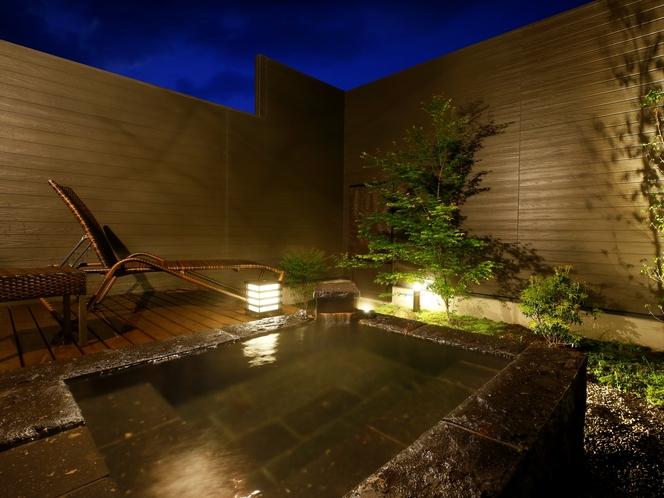 【客室専用の露天風呂】一例