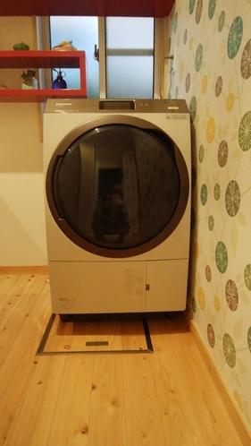 ドラム式洗濯乾燥機 連泊OK!