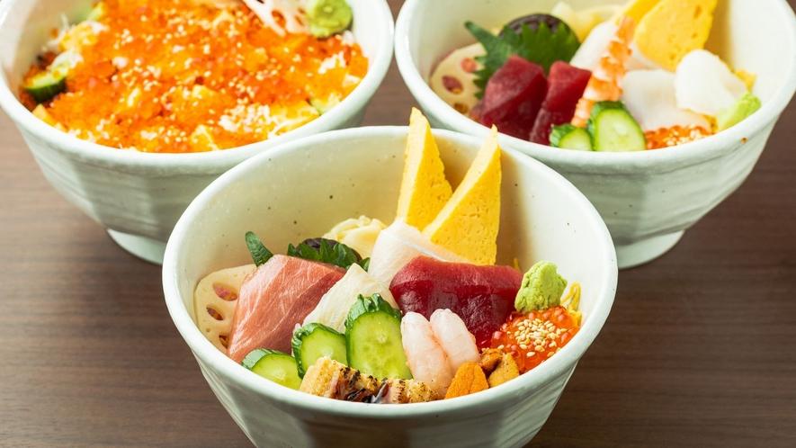 各種ちらし寿司