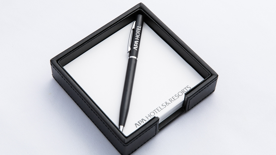 メモBOX、ボールペン