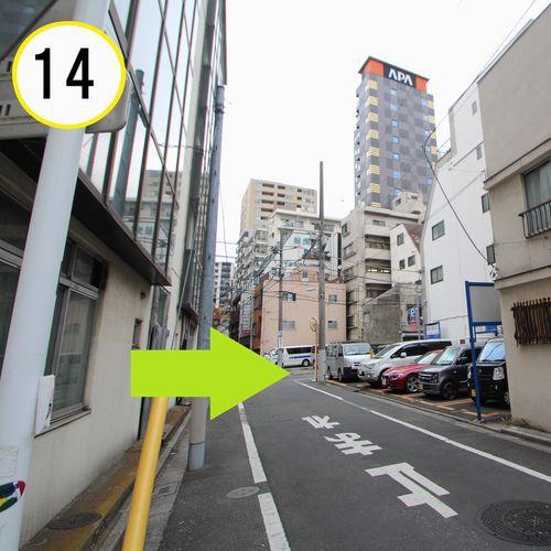 JR上野駅入谷口からの道順案内(14)