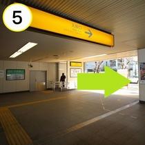 JR上野駅入谷口からの道順案内⑤