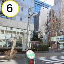 JR上野駅入谷口からの道順案内⑥