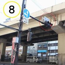 JR上野駅入谷口からの道順案内⑧