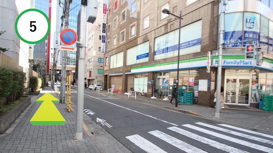 【道案内】JR上野駅入谷口から⑤