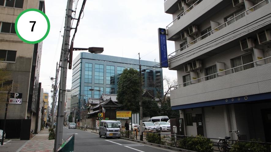 【道案内】JR上野駅入谷口から⑦