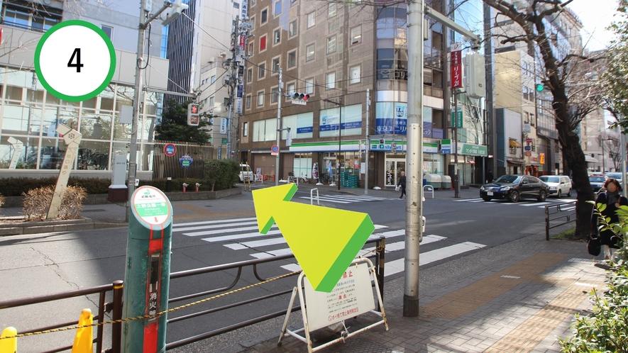 【道案内】JR上野駅入谷口から④