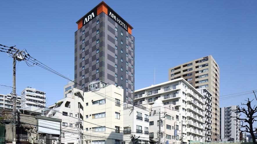 ホテル外観(清洲橋通りから)