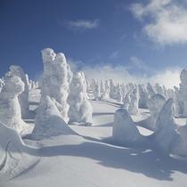 森吉山樹氷
