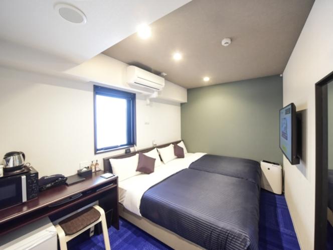◆ツインルーム◆全室セミダブルベッド使用☆
