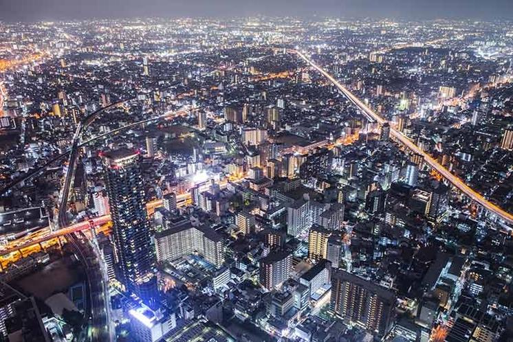 【大阪夜景イメージ】
