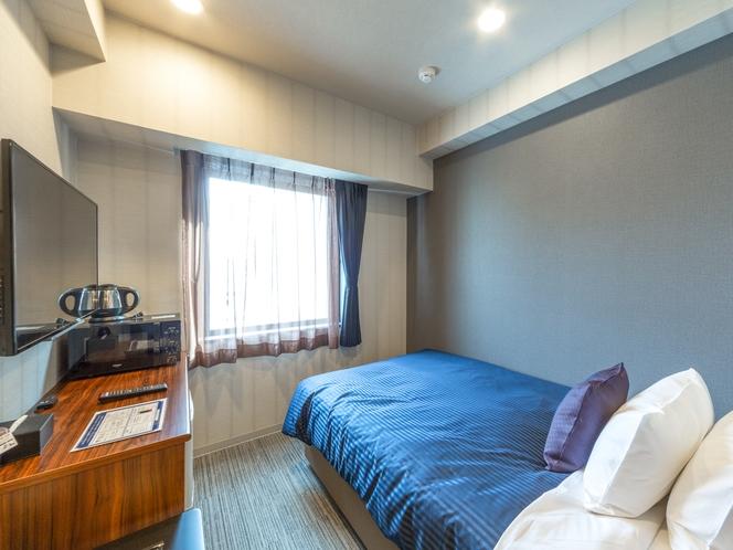 ◆シングルルーム◆ベッドサイズ:120×195cm 全室スランバーランドベッドを完備しております。