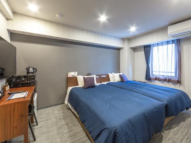 ◆ツインルーム◆ベッドサイズ:120×195cm 全室スランバーランドベッドを完備しております。