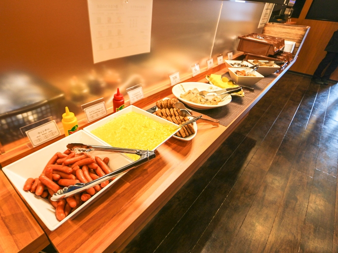 ◆軽朝食◆和洋を中心としたビュッフェタイプの軽朝食です。