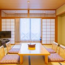 *【和室10畳一例】シンプルな造りの和室10畳の客室