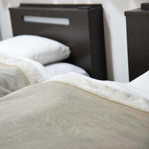 ベッド枕元