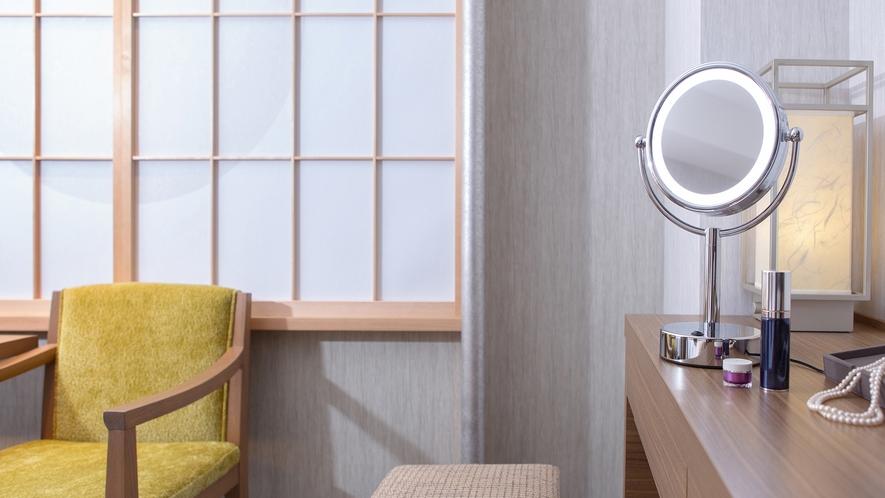 【NEW】客室LEDライト付きミラーイメージ