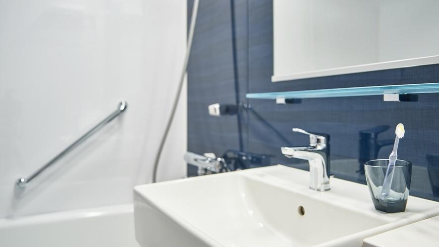 【NEW】客室バスルームイメージ(モデレートツイン)