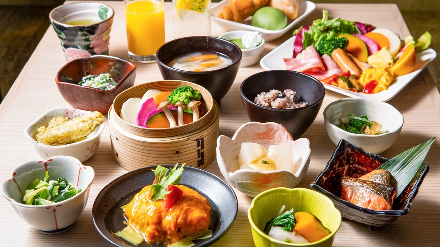 【NEW】朝食イメージ(和洋食)