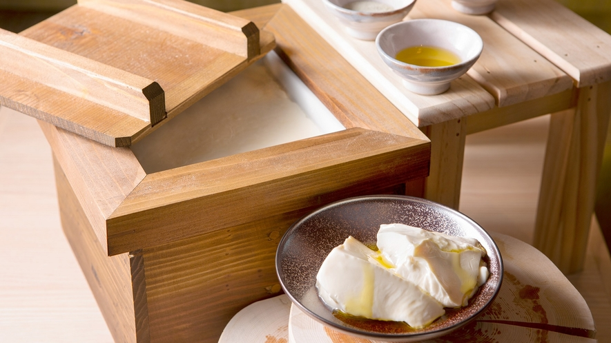 【NEW】朝食ビュッフェイメージ9(出来立て豆腐)