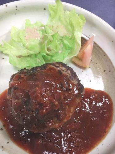 料理1(ハンバーグ)