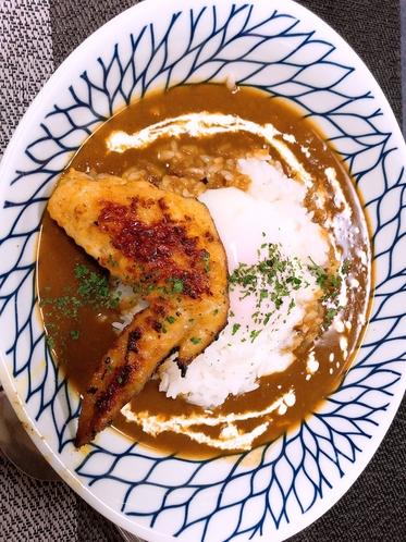 料理2(チキンカレー)