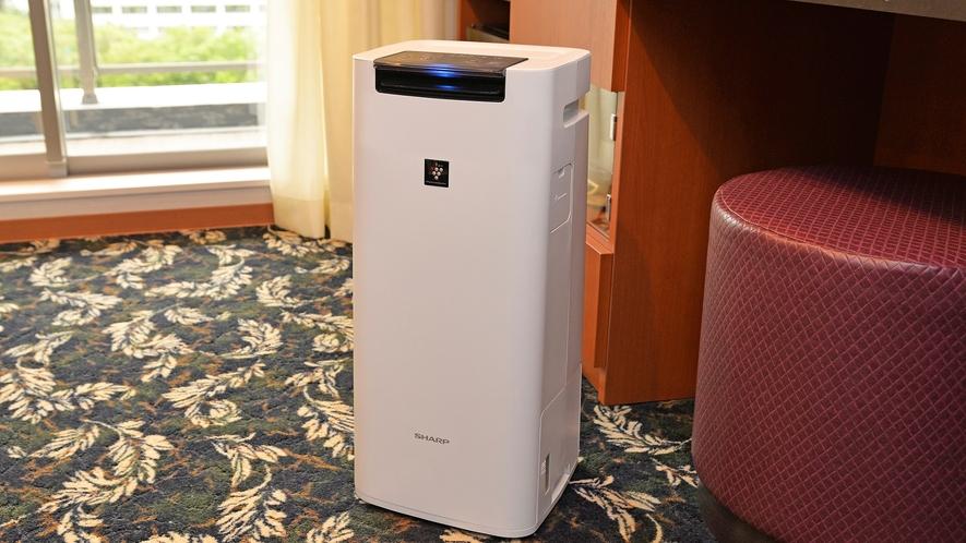 全室加湿空気清浄機完備