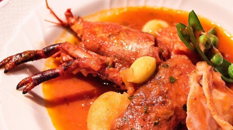『インクローチ』料理一例