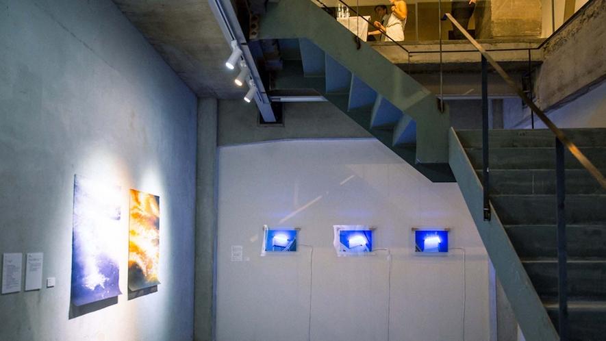 ・アート作品の展示は常時行なっております