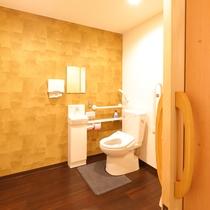 段差のない多目的トイレ
