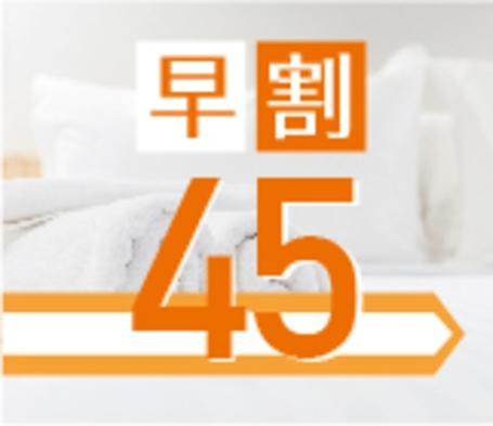 【早割45】45日前のご予約で最大15%OFF!★2018年12月1日リニューアルオープン★