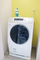 ■館内設備■ 乾燥機付ドラム式洗濯機