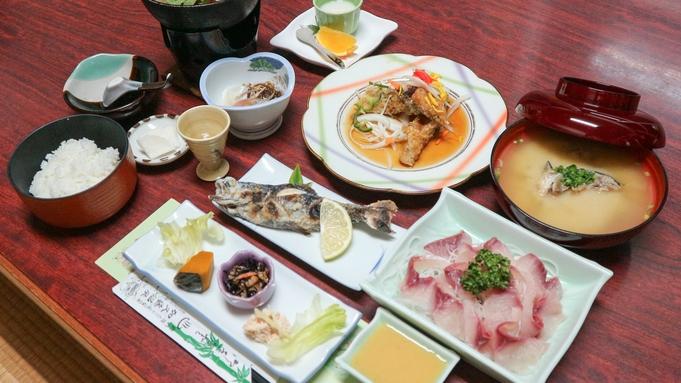 【二食付き◆特別メニュー】グレードアップ料理になんと海老の姿焼きがついた特別プラン♪