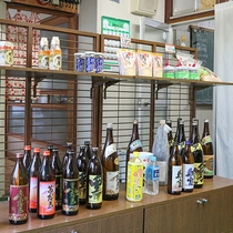 *【売店】地酒や地元のお土産を販売しております