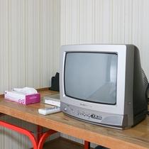 *【客室一例】懐かしのブラウン管テレビ