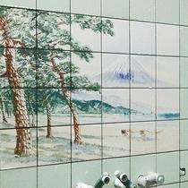 *【大浴場】女湯の壁絵