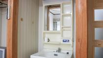 *【客室一例】洗面台。客室内にございますので、ご自分のペースで準備できます♪