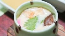 *【夕食一例】茶碗蒸し。優しい味が体中に広がります。