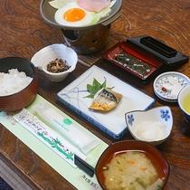 *【朝食一例】和定食。卵の焼き加減はお好みでどうぞ