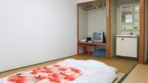 *【和室6畳】お布団はご到着前に敷かせていただいております