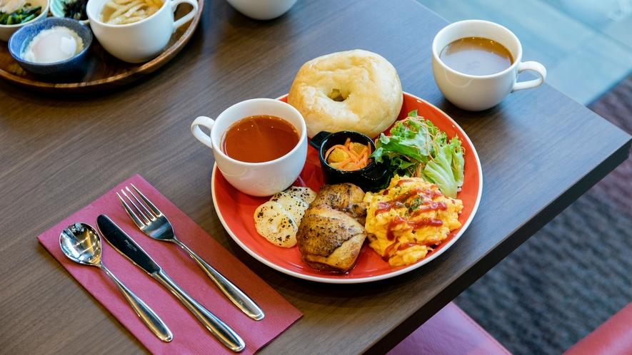朝食(和洋ハーフビュッフェ)