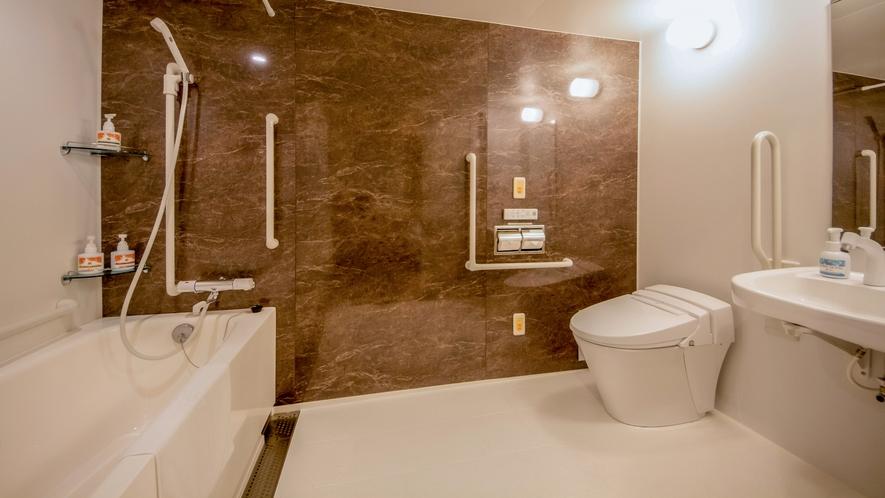 ワイドダブルルーム 浴室