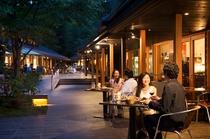 ハルニレ夕食プラン 川沿いにある人気スポットでお食事を♪